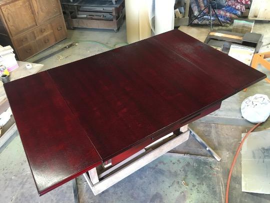 長いテーブル