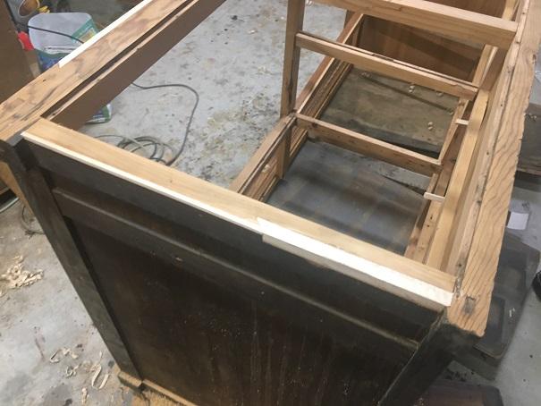 水屋の修理
