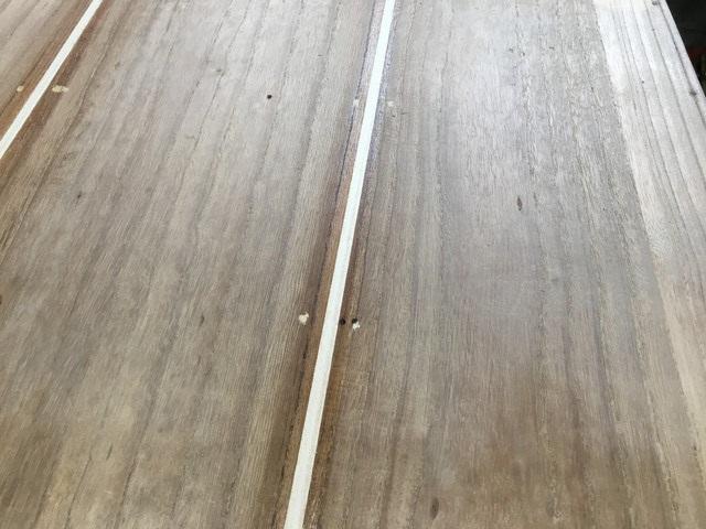 桐たんすの背板修理