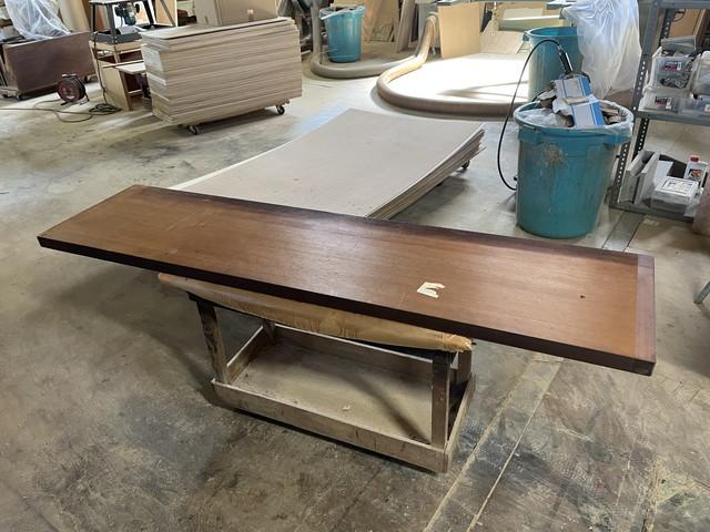 板をテーブルにリメイク